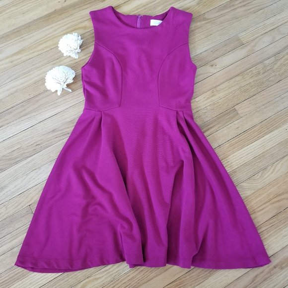 🌸 5/$35 Costa Blanca Maroon Dress XS